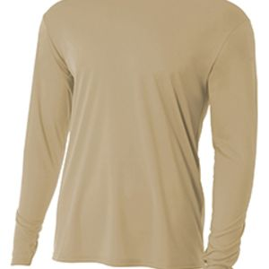 Youth Long Sleeve Cooling Performance Crew Shirt Thumbnail