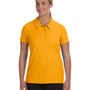 Ladies' Performance Three-Button Mesh Polo Thumbnail