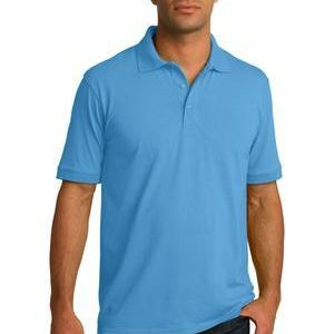 Tall Core Blend Jersey Knit Polo Thumbnail
