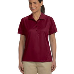 Ladies' 3.8 oz. Polytech Mesh Insert Polo Thumbnail