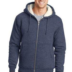 d1fa7edc CornerStone Heavyweight Sherpa Lined Hooded Fleece Jacket CS625