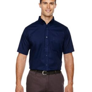 Men's Tall Optimum Short-Sleeve Twill Shirt Thumbnail