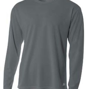 Men's Birds-Eye Mesh Long Sleeve T-Shirt Thumbnail