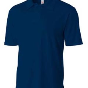 Men's Solid Interlock Polo Shirt Thumbnail